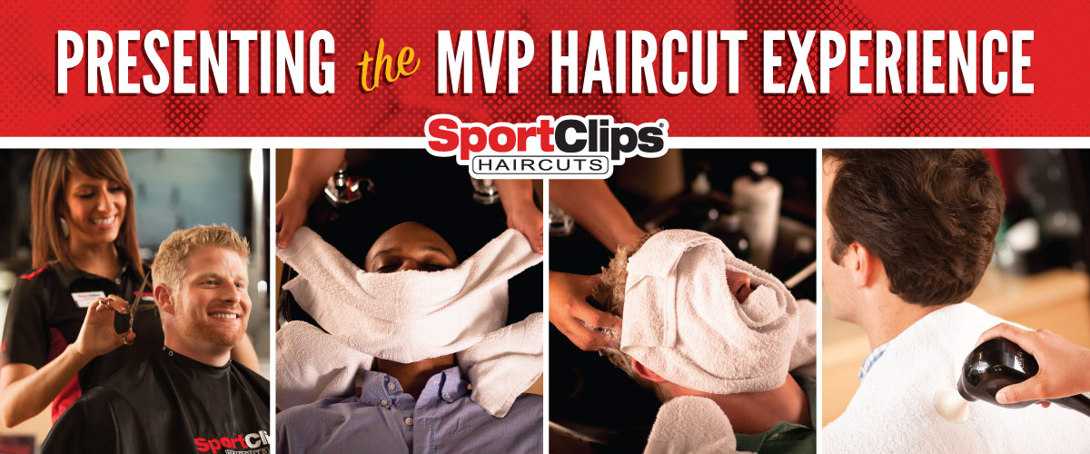 The Sport Clips Haircuts of Clive West MVP Haircut Experience